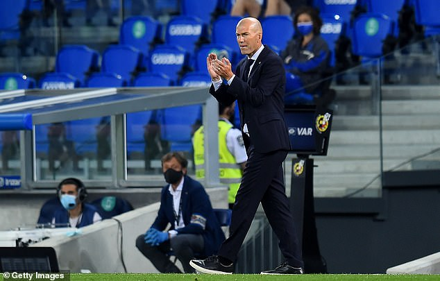 Zinedine Zidane was disappointed to only be asked about the referee after Real Madrid's win
