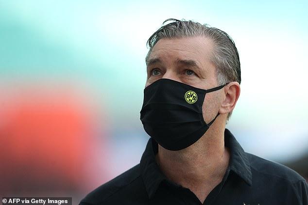 Dortmund chef Michael Zorc a admis juste un jour plus tôt son