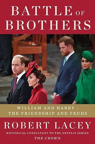 Le biographe Robert Lacey, consultant historique pour The Crown de Netflix ainsi que l'auteur de Majesty, une étude de la reine Elizabeth de 1977, a écrit Battle of Brothers: William and Harry - The Friendship and the Feuds, qui devrait être publié en octobre.