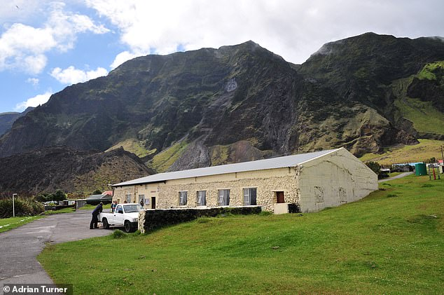 The Albatross Bar, pictured by Flickr user Adrian Turner, is located on Tristan da Cunha, the world's most remote inhabited archipelago