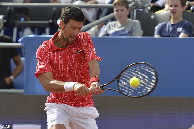 World No 1 Djokovic is now facing huge questions over his Adria Tour event