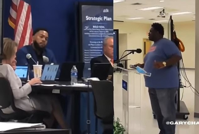 Gary Chambers, who was a candidate for the Louisiana state senate last year, called on Connie Bernard to resign at a school board meeting last Thursday
