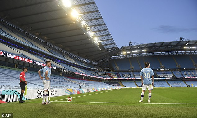 Football is back, Wednesday, has seen 75% of viewers opt for the artificial, the noise of the fan during games