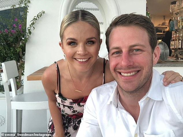 'Two years of marriage, one hilarious maniac of a son, our beautiful Utah (their dog), with another small human on the way... Who could have imagined we would have created such an amazing little family only two years on,' she captioned the post, which included a picture of her and Charlie enjoying their luxurious honeymoon in Europe
