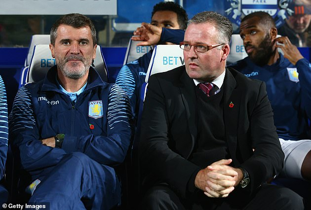 Keane has been assistant manager to Paul Lambert at the Villa for four months during the year 2014