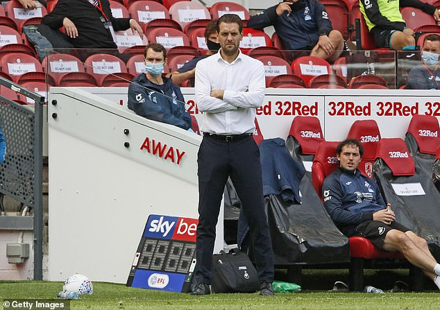 Middlesbrough have sacked Jonathan Woodgate after their 3-0 home defeat by Swansea