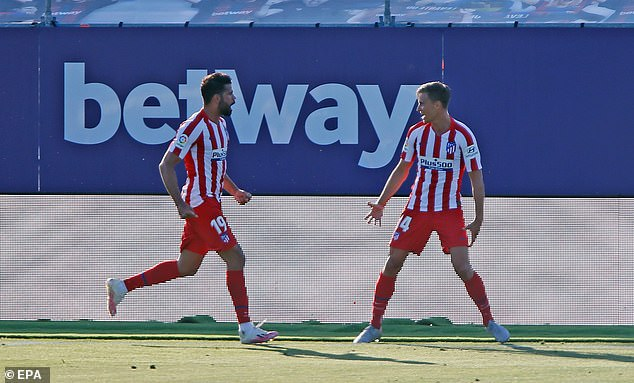 The result means that Diego Simeone's side have made an unbeaten return to the Liga season
