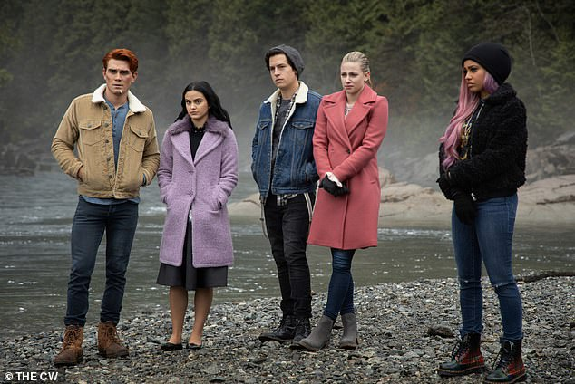 Returning soon: Mendes has starred as Veronica Lodge on The CW's Riverdale since 2017. Filming on the fifth season resumed in Vancouver, Canad, in the fall and the first of the new episodes premieres on January 20 on The CW.