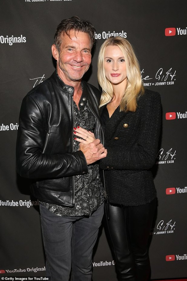 Dennis Quaid and Laura Savoie are married!  The 66-year-old actor married Laura, 27, at a spa in Santa Barbara on June 2.