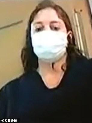 Natalie White's bond hearing happened over Zoom on Wednesday. She wore a mask inside Fulton County Jail