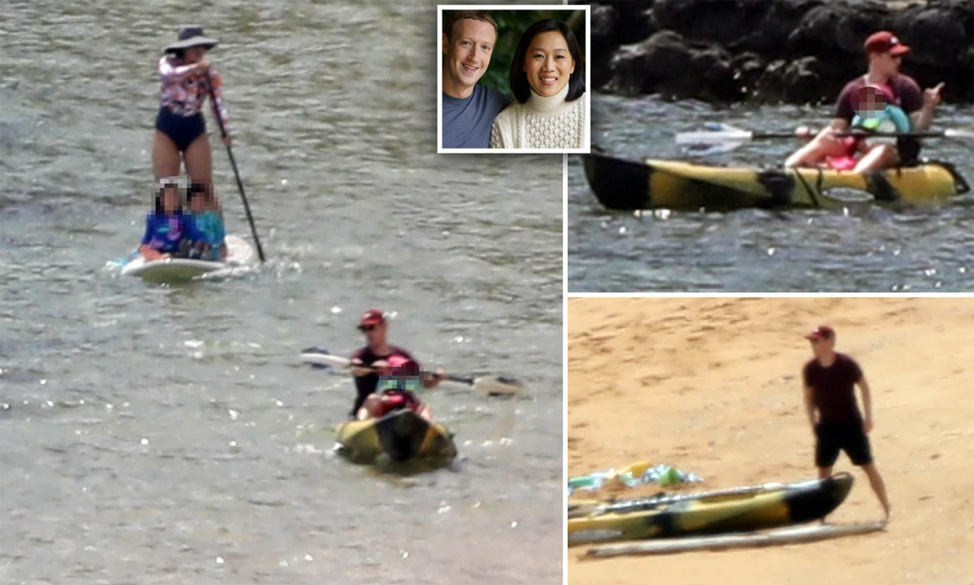 Mark Zuckerberg Visits Hawaii Amid Facebook Advertising Woes Daily Mail Online