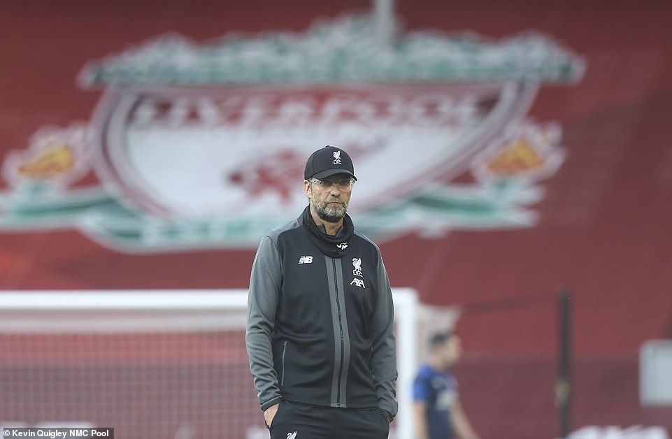 Jurgen Klopp cut a relaxed figure as he went for a strong line up following the disappointing Merseyside derby on Sunday