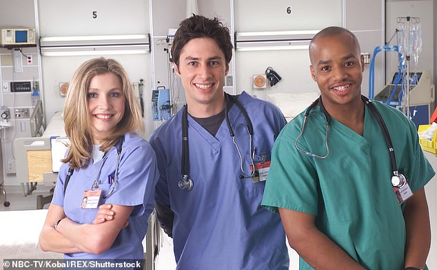 Offline: Three episodes of Scrubs are being removed from Hulu for featuring blackface
