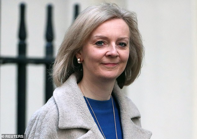 Liz Truss (above) plans for an independent commission to advise on policies that ensure UK farmers 'do not face unfair competition and that their high animal welfare and production standards are not undermined'