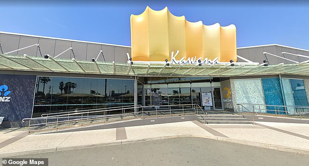 Police were called to Kawana Shoppingworld in Buddina (pictured), on Queensland's Sunshine Coast, at about 4pm on Monday