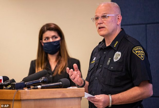 Tucson Police Chief Chris Magnus made the offer during a press conference Wednesday, where he revealed disturbing body camera images showing the death.