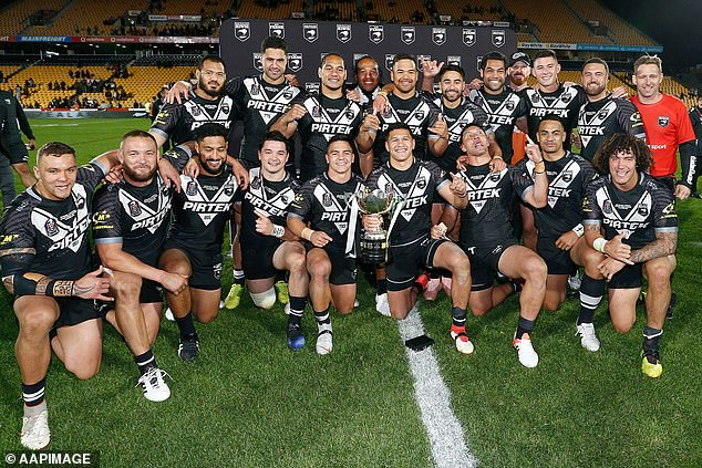 The New Zealand All Blacks will finally take the field against the Kangaroos after ten years of rumours about game between the two legendary teams