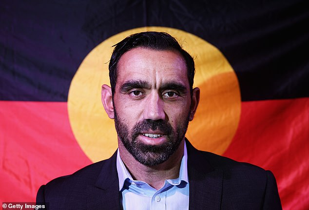 Aboriginal AFL legend Adam Goodes (pictured)was exposed to incessant taunting and booing during the final stages of his career and forced his retirement in 2015