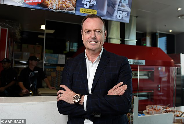 Mr Meij's remarkable rise to the top began when he was delivering meals for Silvio's Dial-a-Pizza