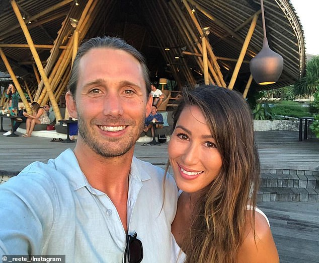 Vocal: On Thursday, former Big Brother star Daniel 'Saxon' Small, 36, (L) revealed why he would NEVER do reality TV again and the reason he thinks the show has 'died', as told to Now to Love. Here: Alongside wife,Mareete