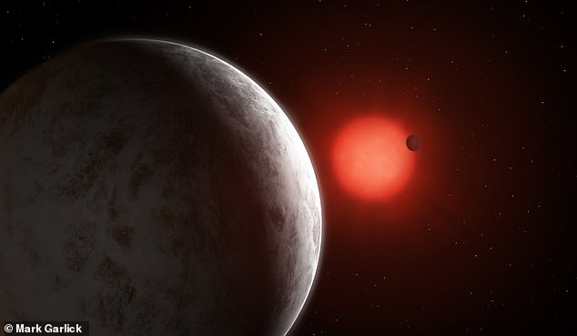 As the planets are on the 'inner edge' of the habitable zone - that is the region where liquid water can remain on the surface - they may be too hot to sustain life. Artists impression