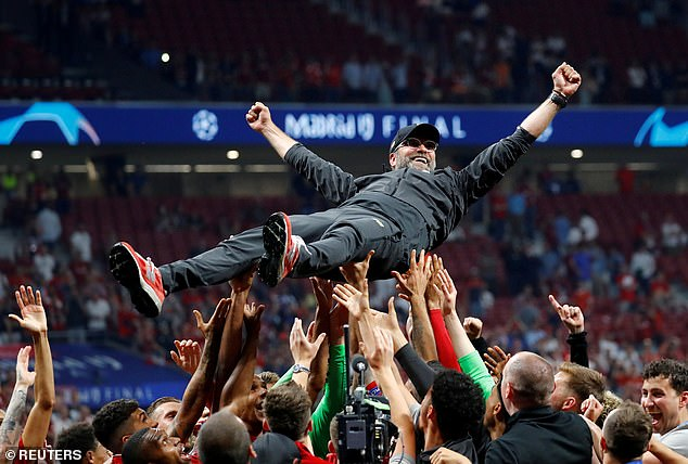 The result at Stamford Bridge makes Klopp the first Reds manager to deliver a title in 30 years