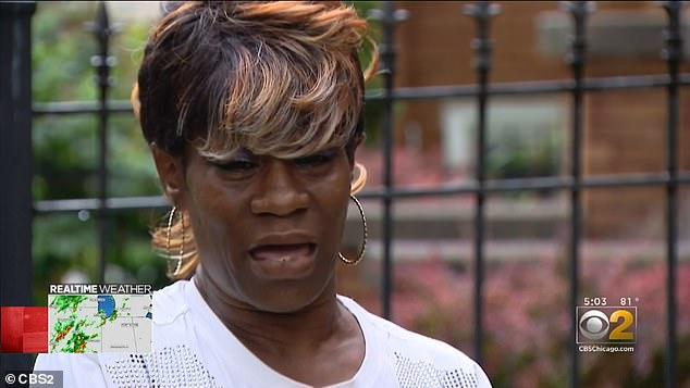 Lawanda Jones said her last memory of her daughter is seeing her reaching out with blood gushing from the wound in her neck