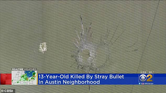 Gunfire erupted outside the Jones family homein the 1000 block of North Leclaire Avenue in the South Austin section before 9pm on Saturday