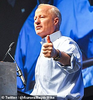 Pictured: Aurora Mayor Mike Coffman