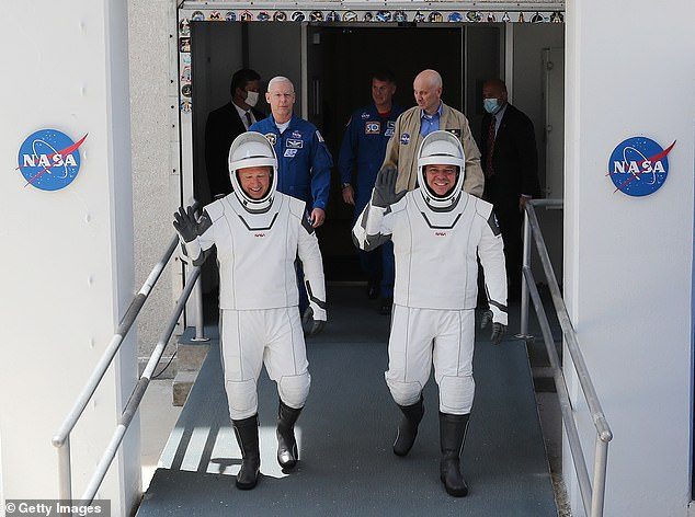 Poor weather conditions plagued the NASA-Space X mission in May, which brought American astronauts Bob Behnken and Doug Hurley to the International Space Station