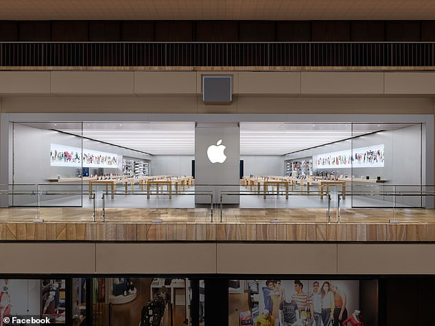 Apple has not made any announcements about the store re-opening, but the company website says the closures will last at least through July 1