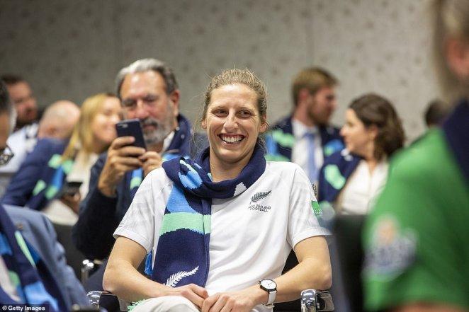 NZ Football Fern Rebekah Stott attended the gathering at FFA headquarters in Sydney overnight