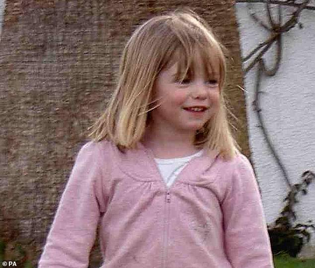 German prosecutor Hans Christian Wolters claimed authorities had 'concrete evidence' that then three-year-old Madeleine was killed, and insisted earlier this month he had shared this information with Madeleine's parents Kate and Gerry McCann in a letter