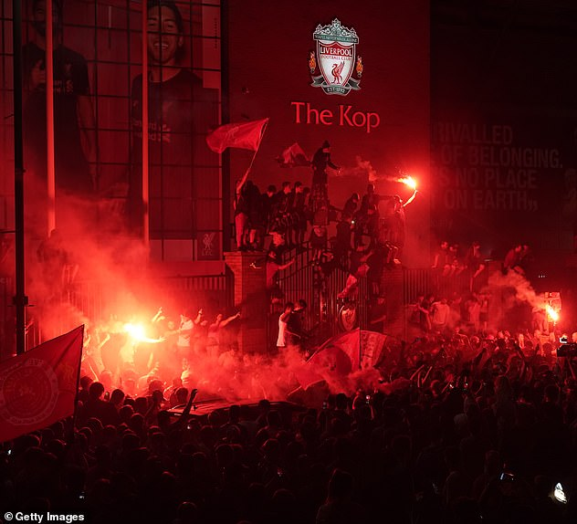 Liverpool won the title without kicking a ball after Manchester City were beaten 2-1 at Chelsea