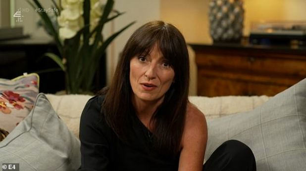 Drama: The presenter took to Twitter on Thursday night to clarify Davina McCall's claims he'd been offered a chance to appear on lookback series Best Shows Ever