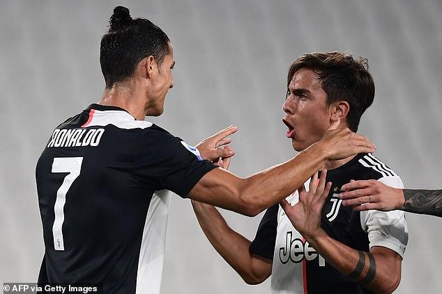 Juventus 4-0 Lecce: Ronaldo and Dybala sink 10-man visitors