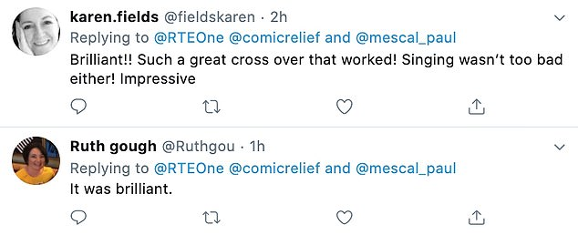 Fusion! The crossover plunged fans into collapse as they gathered on Twitter to share their thoughts on the Comic Relief special