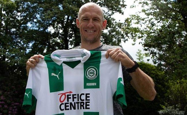 Fc Groningen Sign Arjen Robben For Next Season Mopays