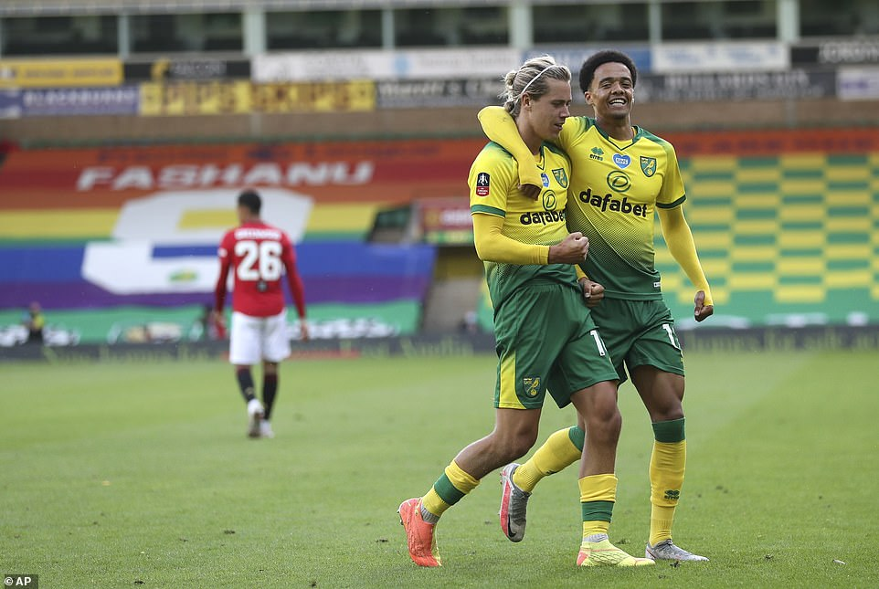 Todd Cantwell's strike with just 15 minutes to go gave Norwich a deserved leveller, hitting it from the edge of the box