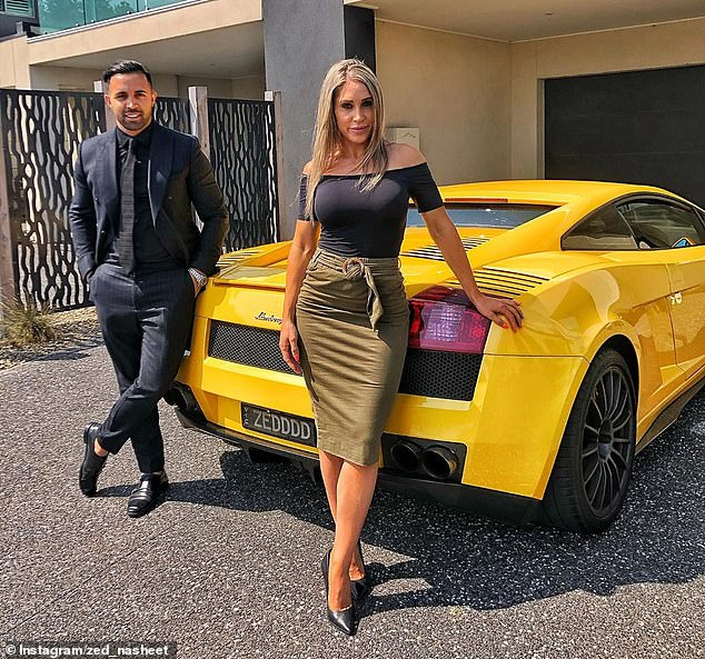 Mr Nasheet, a former Afghan refugee, claimed the version of himself promoted online, and the many luxury cars he's posed with, is a means to an end