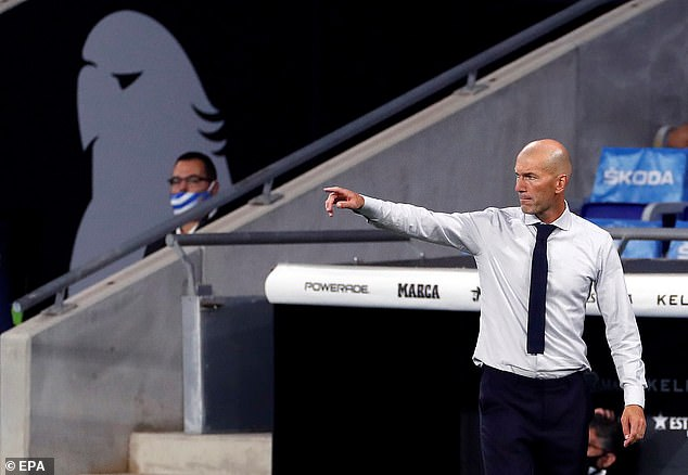 Zinedine Zidane's side now sit two points clear at the top of LaLiga ahead of Barcelona