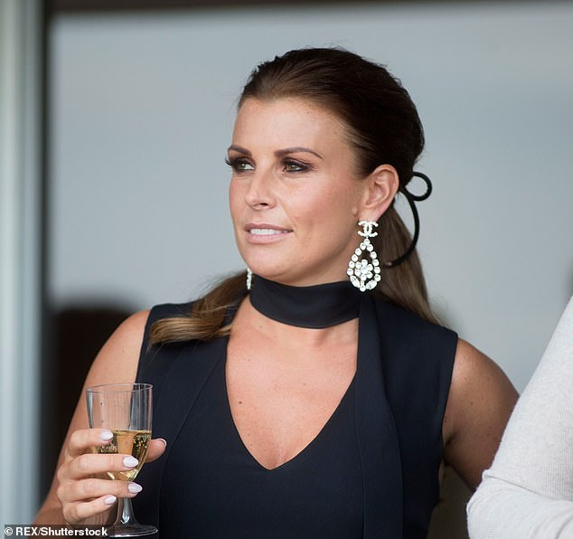 Drama: Coleen WAG's friends reportedly 'panicked' that Rebekah was able to disclose private information about them (Coleen picturedi n 2018)