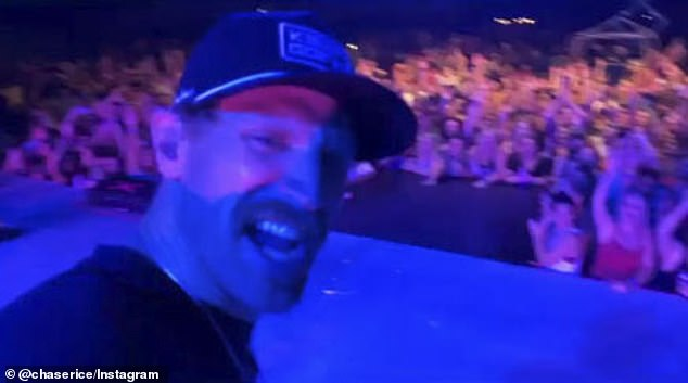 Rice's show:Rice, 34, held a show on Saturday night for over 4,000 fans in Petros, Tennessee, the first of 12 planned shows throughout several Southern states spanning until mid-September
