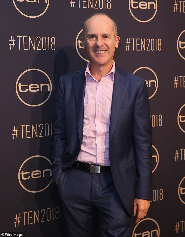 End of an era: Eleven years after it went off air, Tom Gleisner has explained what prompted him to end his improvisational comedy series, Thank God You're Here. Pictured at the Network Ten Upfronts in Sydney in November 2017