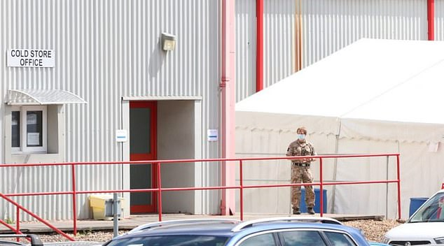 Military personnel have been sent out to the outbreak at Rowan Foods in Wrexham, North Wales