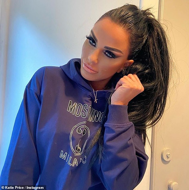 Family: Peter is also a parent of Junior, 15, and Princess, 13, of his marriage to Katie Price (photo)