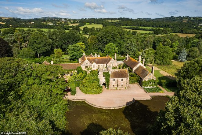You'd be barking mad not to instantly fall in love with Cothay Manor in Somerset, which has been put on the market for a cool £5million