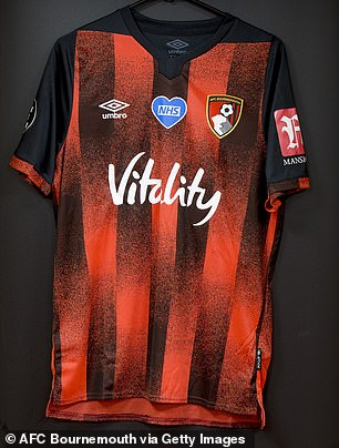 Bournemouth have made their most radical change to a home kit for nearly a decade