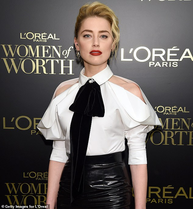 Amber Heard, Depp's ex-wife, is a part of the case against The Sun newspaper after it published a headline saying he was a