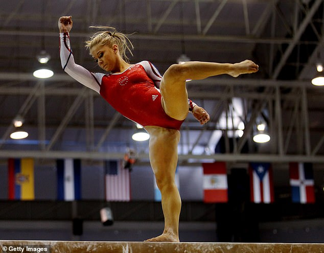 Dangerous: When she returned to gymnastics, she was prescribed Adderall to lose weight and increase her energy